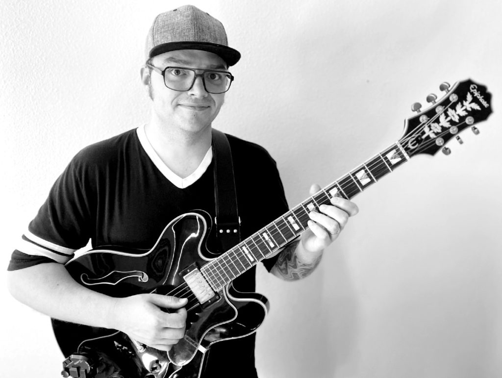 a picture of Rick Klaras the guitar teacher